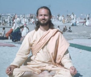 swami_kriyananda_at_the_kumbha_mela_in_india__1960
