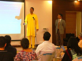 Dr, Aditya Teaching Corporate Workshop