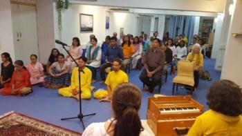 Meditation in Ananda Pune Center