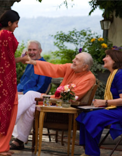 Gaurja and Swami Kriyananda