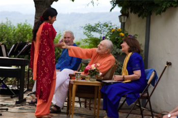 Gaurja and Swami Kriyananda