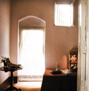 Yogananda's Back Door