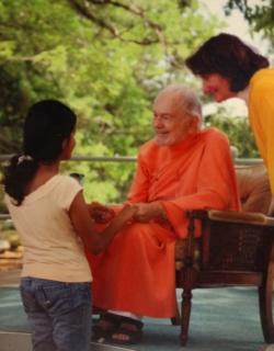 Gaurja and Swamiji